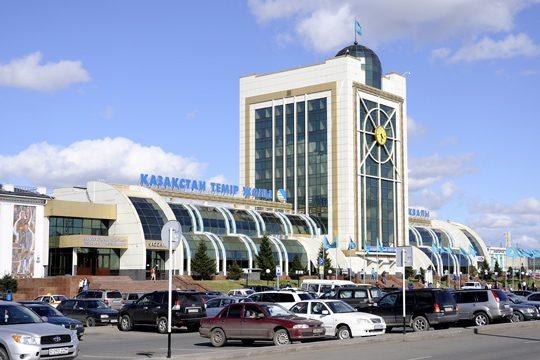 Ж/Д вокзал в Астане. Фото train-photo.ru