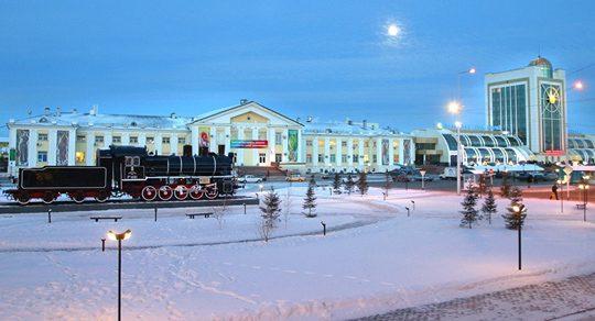 Железнодорожная станция в Астане. Фото sputniknews.kz