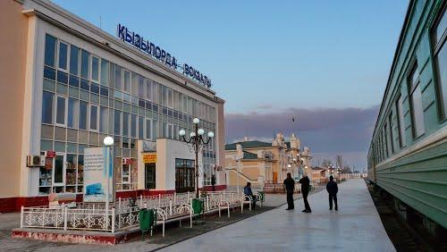 Ж/Д вокзал в Кызылорде. Фото mw2.google.com