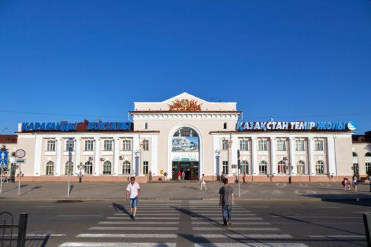 Ж/Д вокзал Караганды. Фото zaleskiy.com