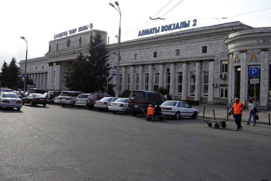Ж/Д вокзал Алматы-2. Фото maps.resurs.kz
