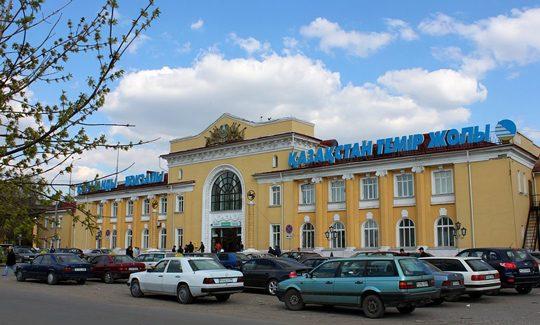 Ж/Д вокзал в Караганде. Фото timeskz.kz