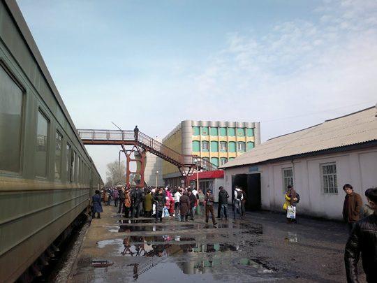 Ж/Д вокзал в Семипалатинске. Фото static.panoramio.com
