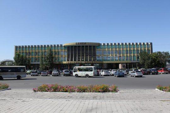 Ж/Д вокзал в Семипалатинске. Фото photos.wikimapia.org