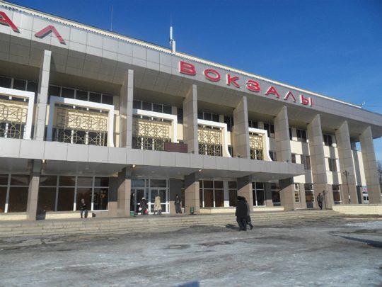 Железнодорожный вокзал в Уральске. Фото mgorod.kz