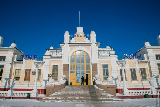 Ж/Д вокзал в Кзыл-Орде. Фото voxpopuli.kz