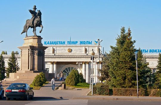 Ж/Д вокзал Алматы-2
