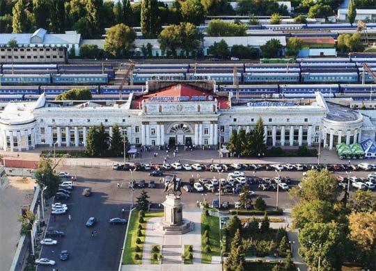 Железнодорожный вокзал Алматы-2