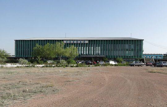 Ж/Д вокзал Балхаш-2. Фото informburo.kz