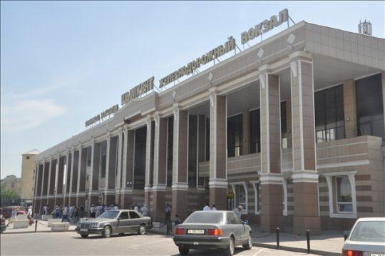 Ж/Д вокзал в Шымкенте