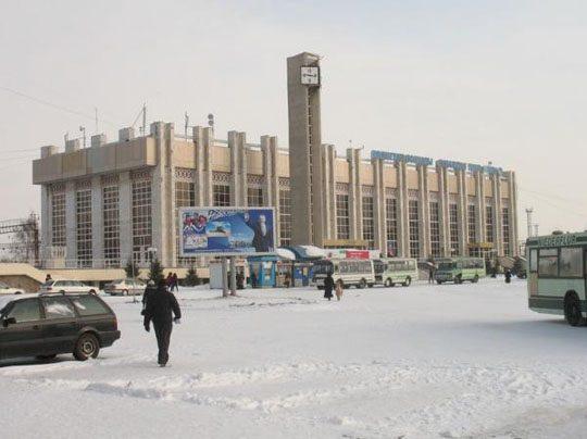 Ж/Д вокзал станции Кокшетау-1