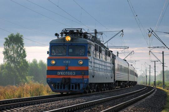 Поезд КТЖ. Фото uralskweek.kz