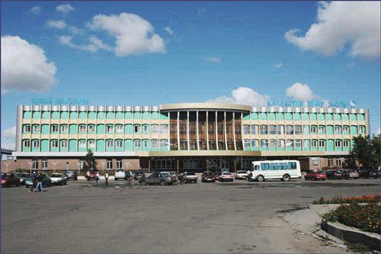 Железнодорожный вокзал в городе Семей. Фото akimsemey.gov.kz