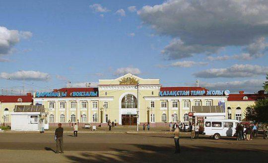 ЖД вокзал Караганды. Фото km.ru