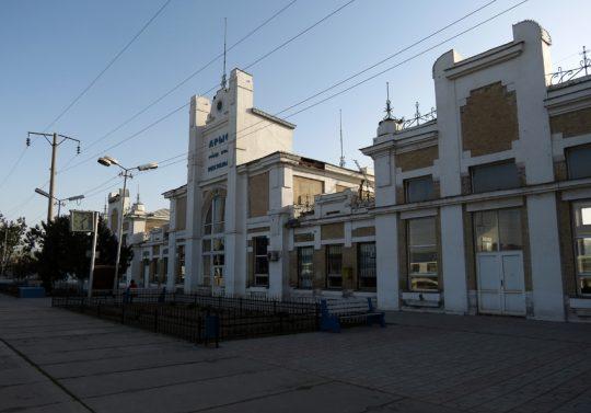 Ж/Д вокзал Арысь-1. Фото img-fotki.yandex.ru