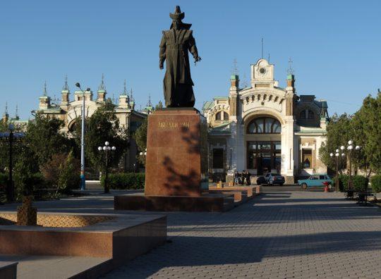 Ж/Д вокзал Туркестана. Фото fotki.yandex.ru