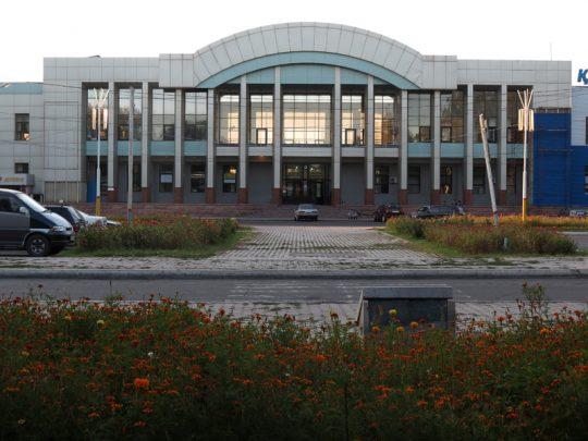 Ж/Д вокзал Джамбул. Фото varandej.livejournal.com