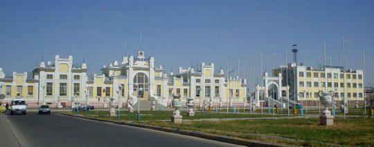 Ж/Д вокзал Кызылорды. Фото panoramio.com