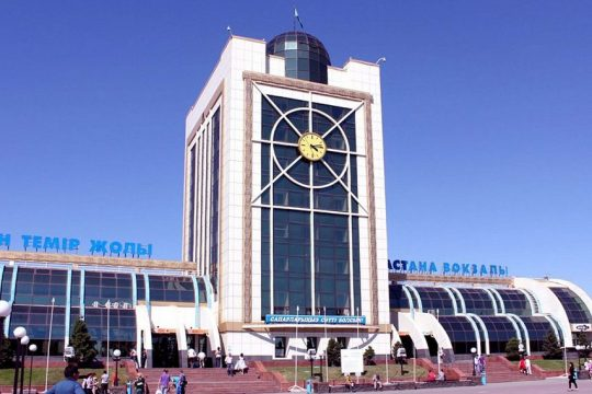 Старый Ж/Д вокзал Астаны. Фото static.panoramio.com