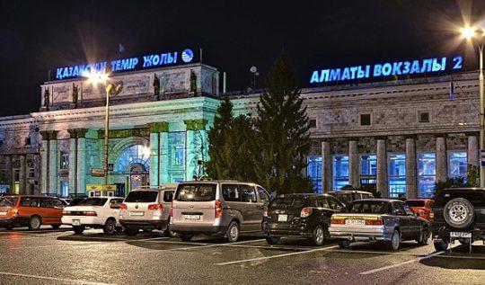 Ж/Д вокзал Алматы-2. Фото rutraveller.ru