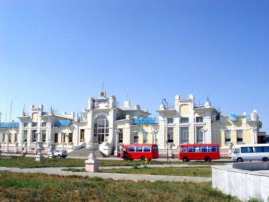Ж/Д вокзал Кызылорды. Фото westside.kz