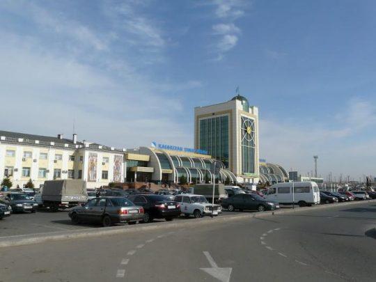 Ж/Д вокзал в Астане. Фото photos.wikimapia.org