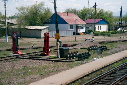 Ж/Д станция Сары-Озек. Фото panoramio.com