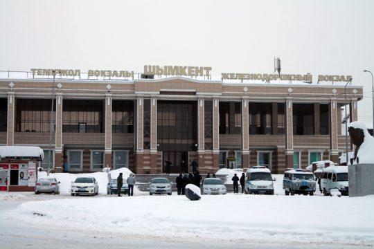Ж/Д вокзал Шымкента. Фото otyrar.kz
