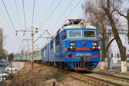 Поезд КТЖ. Фото zaleskiy.com