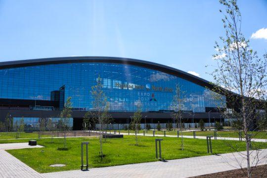 Ж/Д вокзал Астана-Нурлы Жол. Фото primeminister.kz
