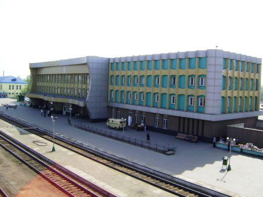 Ж/Д вокзал в Семипалатинске. Фото train-photo.ru