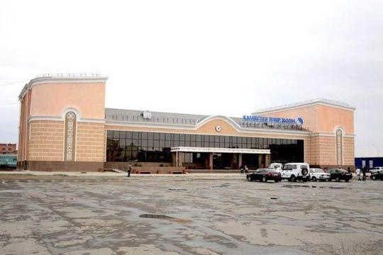 Ж/Д вокзал в городе Аркалык
