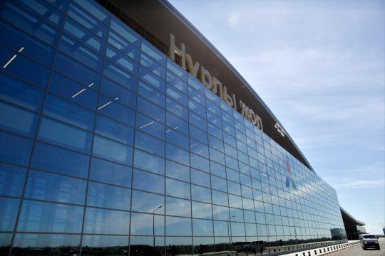 Здание нового вокзала в Астане - Нурлы Жол. Фото informburo.kz