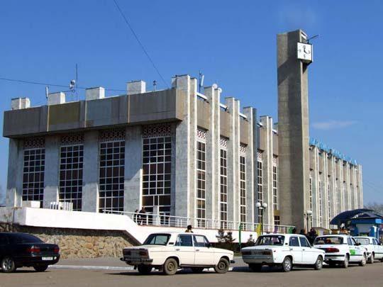 Ж/Д вокзал в городе Кокшетау