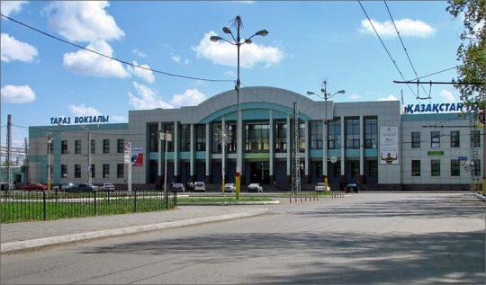 Ж/Д вокзал Тараза. Фото fc-aktobe.kz
