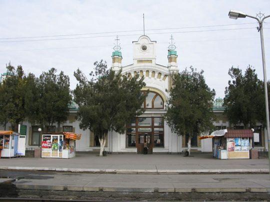 Ж/Д вокзал Туркестана. Фото moremhod.info