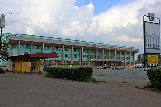 Ж/Д вокзал Уральска