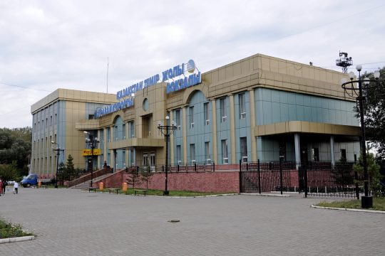 Ж/Д вокзал станции Курорт-Боровое. Фото train-photo.ru