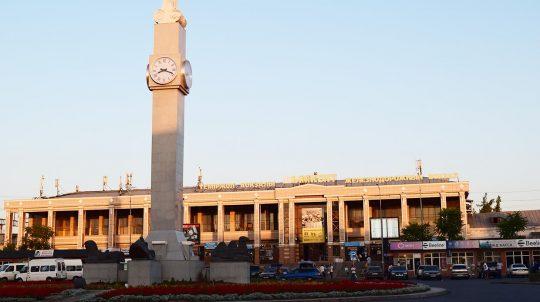 Ж/Д вокзал в Шымкенте. Фото visit-kazakhstan.kz
