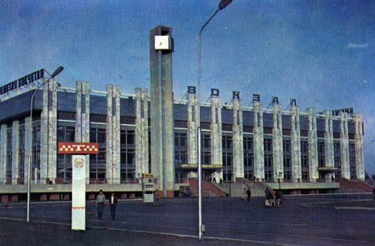 Ж/Д вокзал Кокшетау в 80е годы