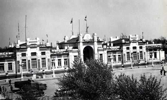 Старое здание Ж/Д вокзала в Кызылорде