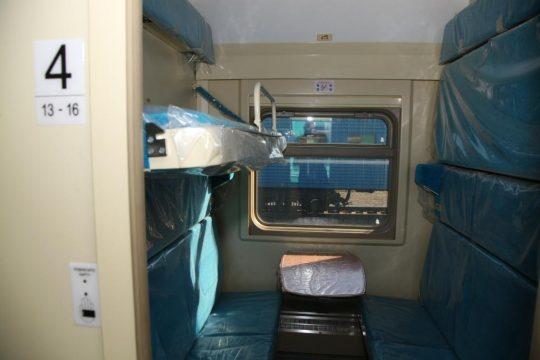 "Купе поезда ""Каспий"". Фото rail-club.ru"