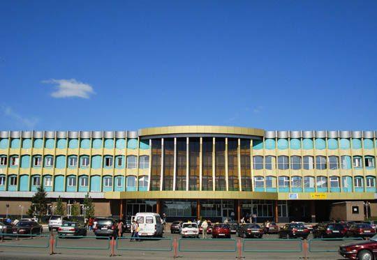 Ж/Д вокзал в Семее