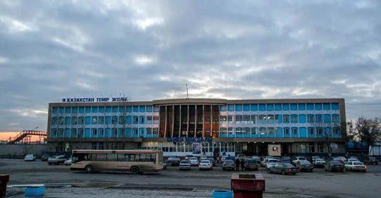 Ж/Д вокзал в Семипалатинске