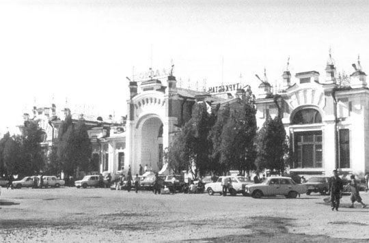 Ж/Д вокзал Туркестана в середине 20 века