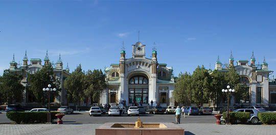 Ж/Д вокзал Туркестана
