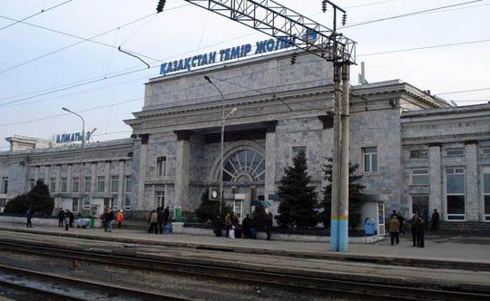 Ж/Д вокзал станции Алматы-2