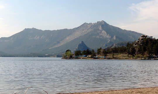 Пейзаж нац. парка Бурабай. Озеро Боровое