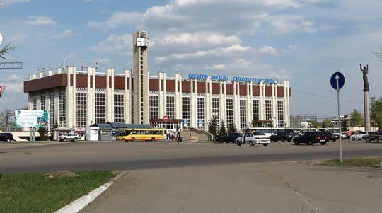 Ж/Д вокзал Кокшетау