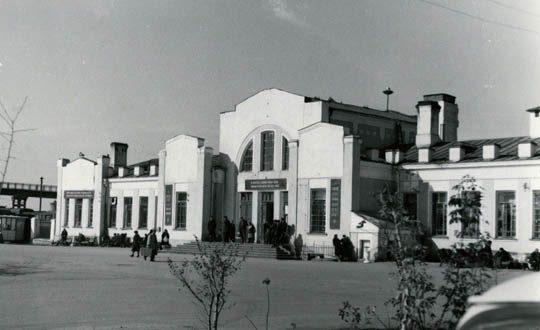 Старый вокзал г.Кустанай